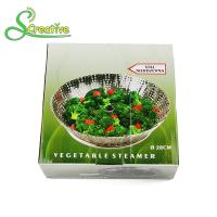 Stackable Collapsible Stainless Steel Vegetable Steamer Basket Insert Food Grade Manufactures