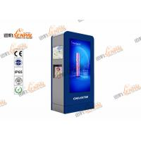 High Brightness LCD Digital Signage Totem With Inteligent Air Conditioner System Manufactures