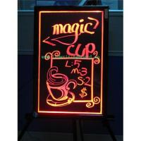 Fluorescent led writing board (ZD57AS) Manufactures