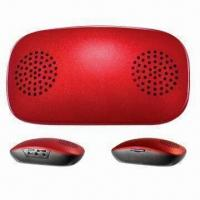 Mouse-shaped Mini Speaker with SD, FM Radio, Dual Power Supply, Supports TF Card and MP3 Player Manufactures