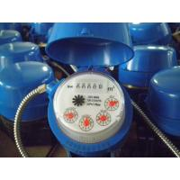 5 Wheels Single Jet Water Meter With Pulse Output , Dry Dial Vane Wheel Water Meter Manufactures