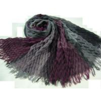 Ruffly Polyester Scarf (HP-C2700) Manufactures