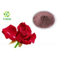 Rose Petal Extract Natural Cosmetic Ingredients Rose Flower Powder For Skin Beauty Manufactures