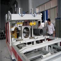 China 20 - 630mm PVC Pipe Expander Machine With PLC Control , PVC Pipe Extrusion Machine on sale
