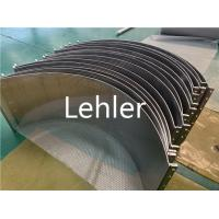 China Wedge Sieve Bend Screen 0.15mm Slot SS316L For Dewatering / Drying Equipment on sale
