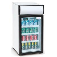 50L Saving-energy Mini Display Fridge / Small Showcase / Countertop Mini Display Cooler with Advertising Light Box Manufactures
