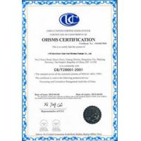 Foshan Liyasheng Aluminium Windows & Doors Co., Ltd Certifications