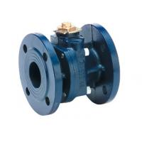 China 2 Way Full Bore Flanged Cast Iron Ball Valve on sale