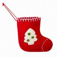 Wool Christmas Stocking, Small Manufactures