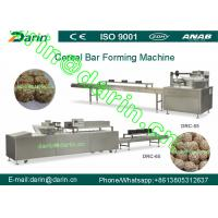 Quality Popped rice bar forming machine / processing Line with rectangular shape for sale