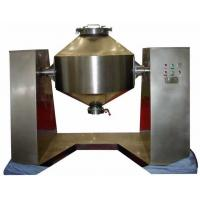SUS316L Dry Powder Mixing Equipment , Double Cone Rotary Dry Mixer Machine