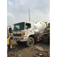 Used hino truck mixer with durable firm 8CBM Manufactures