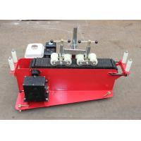 Motorize Gasoline Engine Cable Laying Machine / Cable Push Pull Winch Manufactures