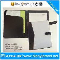New fashionable PU padfolio folder with credit card slot Manufactures