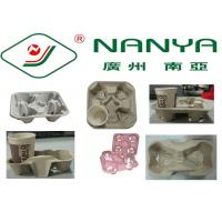 Coffee Cup Holder Pulp Moulded Products with Good Plasticity / Support Customize Manufactures