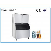 2760W Cube Automatic Ice Machine Stainless Steel 304 Material Under 0 . 13 - 0 . 55Mpa