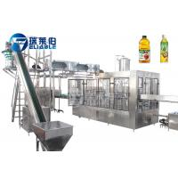 China PET Bottle Juice Production Machine Filling Function 3 In 1 Unit PLC Control on sale