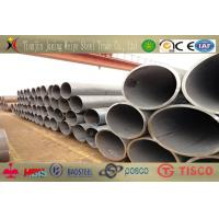 508mm Round Welded Steel Pipes / Longitudinal Submerged Arc Welding ASTM A 53 Manufactures