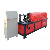 China Hydraulic Angle Rod Rebar Straightening Machine Cast Steel Clip 7.5kw Motor Power on sale