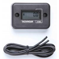 Electronic LCD, Waterproof Gasoline Engine Tiny Tach Hour Meter for Dirt Bike Manufactures