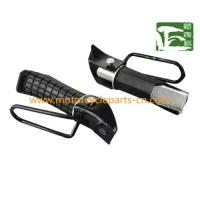 China Honda CB125T Motorcycle Front Rubber Footrest / Alloy and Plastic Footrest , Black on sale