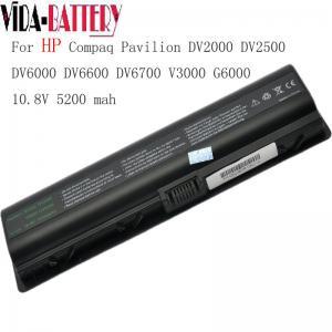 China Replacement Laptop Battery for HP DV2000 DV2500 DV6000 DV6600 DV6700 powre blank on sale