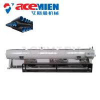 HDPE PPR PP PE Pipe Machine , Plastic Pipe Making Machine Single Screw Manufactures