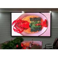 High Brightness P2.6 Indoor Led Video Screen With Contrast And Easy Servicing Manufactures
