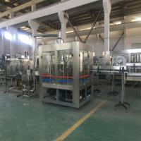 Mineral Water Automatic Water Filling Machine 15 Capping Heads High Speed Filling Valve Manufactures