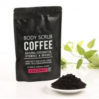 Coconut / Coffee Natural Body Scrub Brightening Stretch Mark For Adult Manufactures