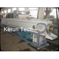 HDPE Hollow Wall Winding Pipe Production Line twin screw extruder Manufactures