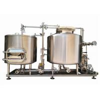 300L Home Pub Equipment / Beer Fermentation Tanks SUS304 With Semi Auto Controlling Manufactures