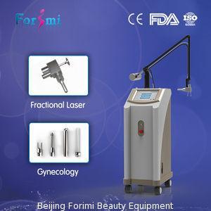 Stationary CO2 Laser Fractional Wrinkle Removal And Skin Rejuvenation Manufactures