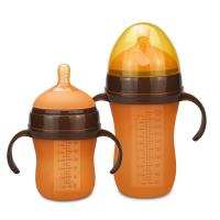 Colored Nipples Newborn Milk Bottle , Small Ready Made Formula Bottles Manufactures