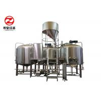 10BBL / 20BBL / 30BBL Commercial Beer Brewing Systems Polished For Restaurants Manufactures