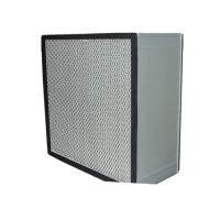 Washable Cleanroom HEPA Air Filter for Filtration System , Anodized Aluminum Frame Manufactures