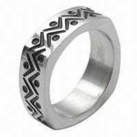 Stainless Steel Ring, OEM and ODM Orders Welcomed Manufactures