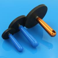 China NdFeB rubber coated permanent magnet on sale
