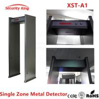 China Metal Detector archway for airport hotel security metal scanner gate Metal Detector door single detecting zones XST-A1 on sale
