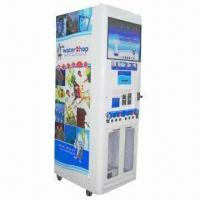 Water Vending Machine with 400, 600, 800 and 1, 300 Gallon Capacities and Up to 510W Power Manufactures