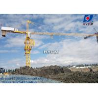 Sell 60m Jib 8 ton Load HYCM Topkeit Tower Crane Chinese Supplier Price Manufactures