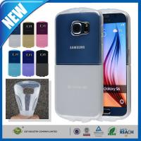 Slim Transparent Gel TPU Galaxy S6 Case Cover Skin Scratch Resistant Manufactures