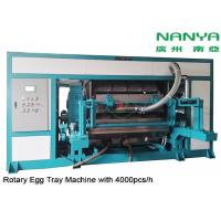 Automatic Rotary Egg Tray / Egg Carton Making Machine High Output Pulp Molded Manufactures