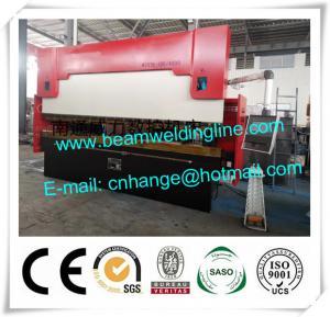 China Delem Synchronize Electric Hydraulic Press Brake , WE67K Press Brake Machine on sale