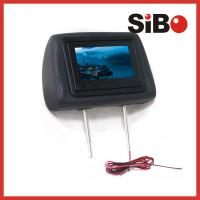 Taxi Back Seat Advertising Headrest Monitor with 3G / WIFI / Body Sensor Manufactures