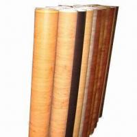 PVC Wooden Decorative Film, Widely Used in Office Doors, Furniture and Decorative Paper Manufactures