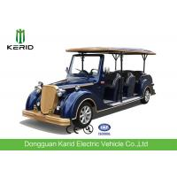 Metal Structure 11 Person Electric Sightseeing Vehicle With High Impact Fiber Glass Body Manufactures