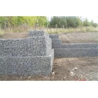 Hot Dipped Galvanized Welded Mesh Gabion For Retaining Wall Structures Manufactures