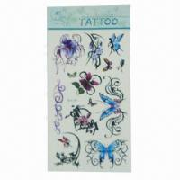 Temporary tattoo stickers, suitable for children