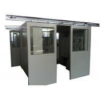 Custom Intelligence Clean Room Air Shower With Auto Slide Door , Stainless steel Manufactures